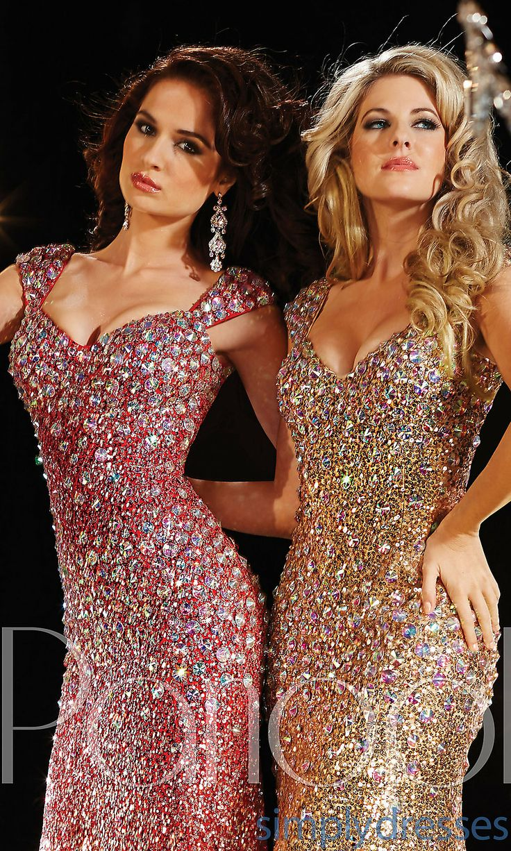Dress, Floor Length Sequin Panoply Dress - Simply Dresses