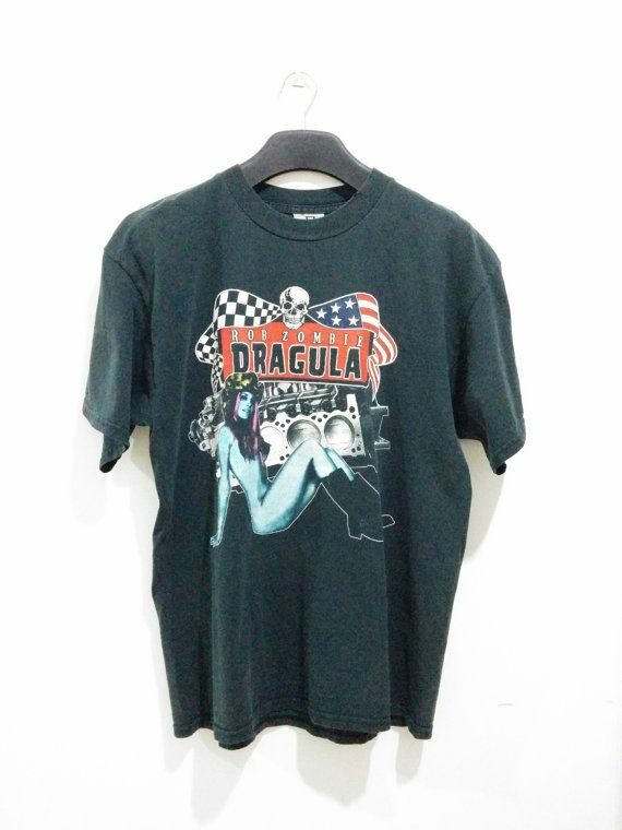 Hey, I found this really awesome Etsy listing at https://www.etsy.com/listing/484691235/free-ship-vintage-90s-rob-zombie-t-shirt