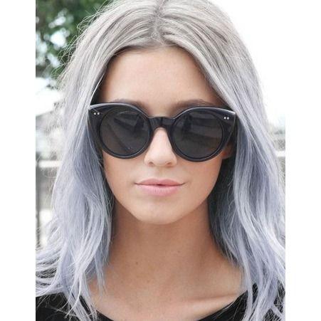 les 25 meilleures id es de la cat gorie reflets de cheveux gris sur pinterest reflets gris. Black Bedroom Furniture Sets. Home Design Ideas
