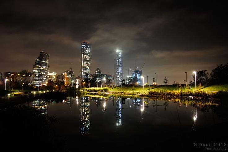 Santiago de noche - Chile