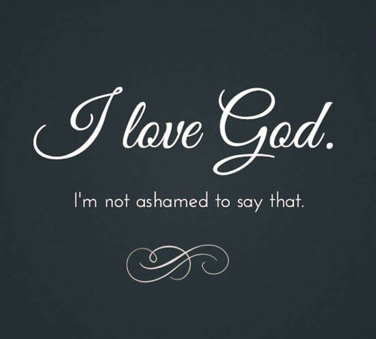 Image result for i love God
