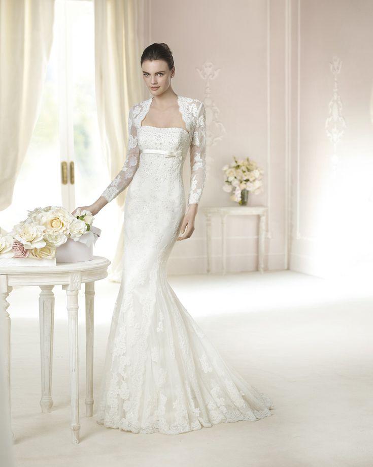 29 best Brautkleid images on Pinterest   Wedding frocks, Short ...
