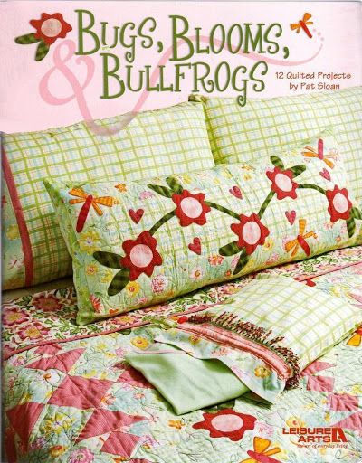 bugs blooms bullfrogs - Gabriela Alicia De Murua - Álbuns da web do Picasa...FREE BOOK AND PATTERNS!!