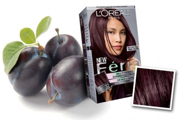 Beaut - Beauty, Fashion, Life , Photos, Celebrity, Tutorials - 2010 hair colour: Black OUT – Plum IN! Hair colour of yore in surprise revival