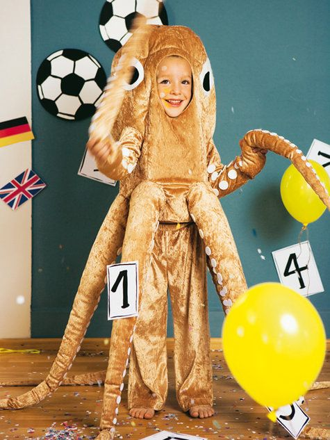 Burda children's octopus costume... I want one for big people :)