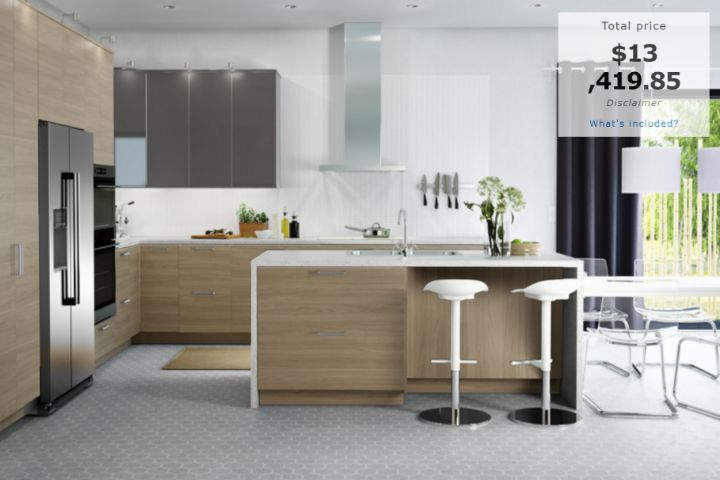 The IKEA 10x10 kitchen price is not a good indicator of how much an IKEA kitchen will cost for your home. Download our ebook instead.