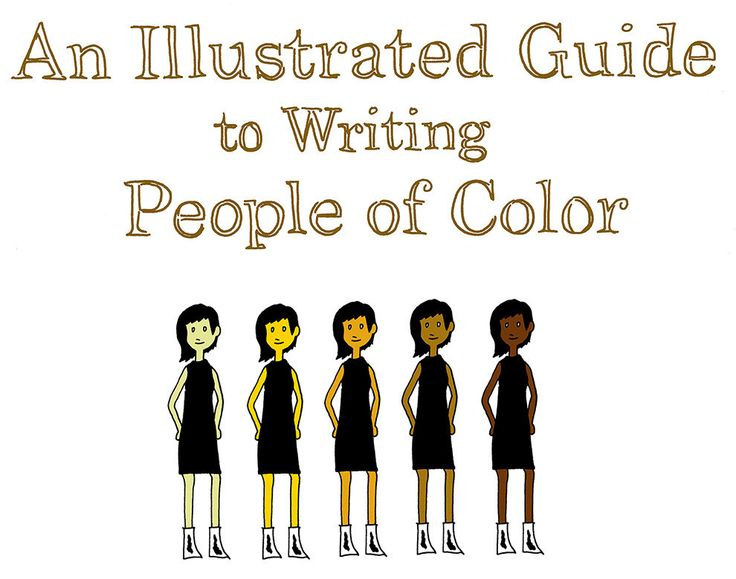 An illustrated guide to properly writing diverse characters in your #NaNoWriMo novel. #writingtips #characters #description