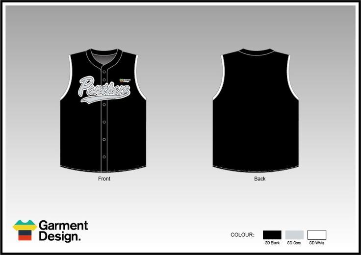 sleeveless baseball jersey