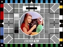 Waiting for Watch with Mother . The television was not on all day long, remember this, the testcard and some music
