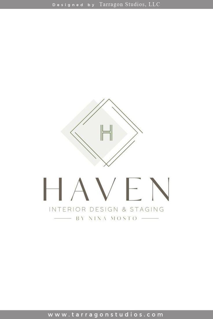 Brand Identity Haven Interior Design Staging By Nina Mosto