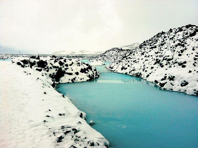 Fredrik Jeppsson. Iceland. it looks like piles of cookie and cream ice cream ..