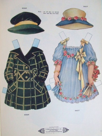 Paper Dolls from the 1920's Clothes