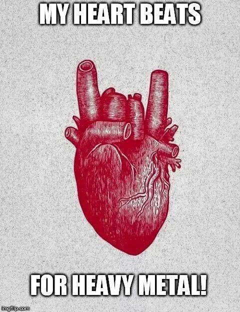 heavy metal heart - Google Search