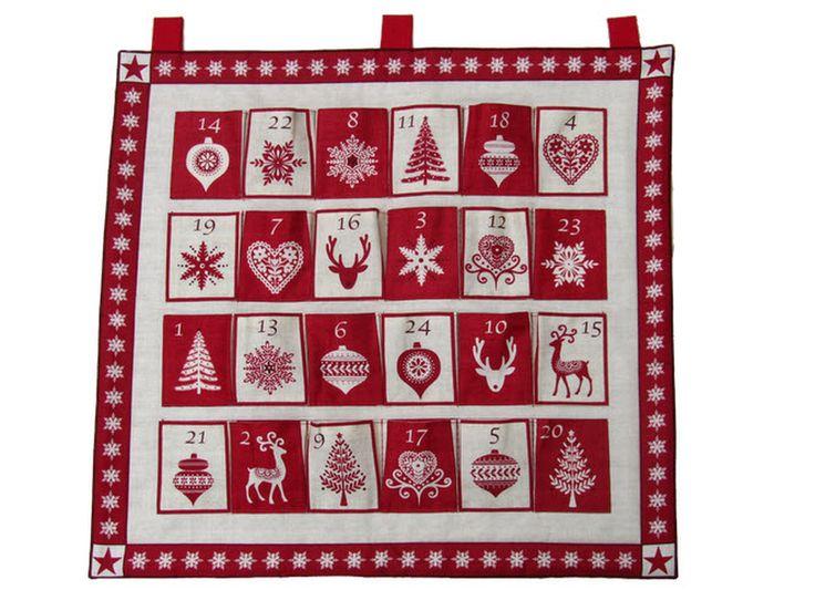 Scandinavian Fabric Advent Calendar