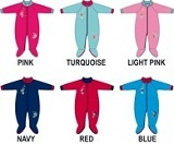Bright Bot's polar lined sleep suitsare perfect to wear to bed during winter without the need for loose blankets www.babyeureka.com