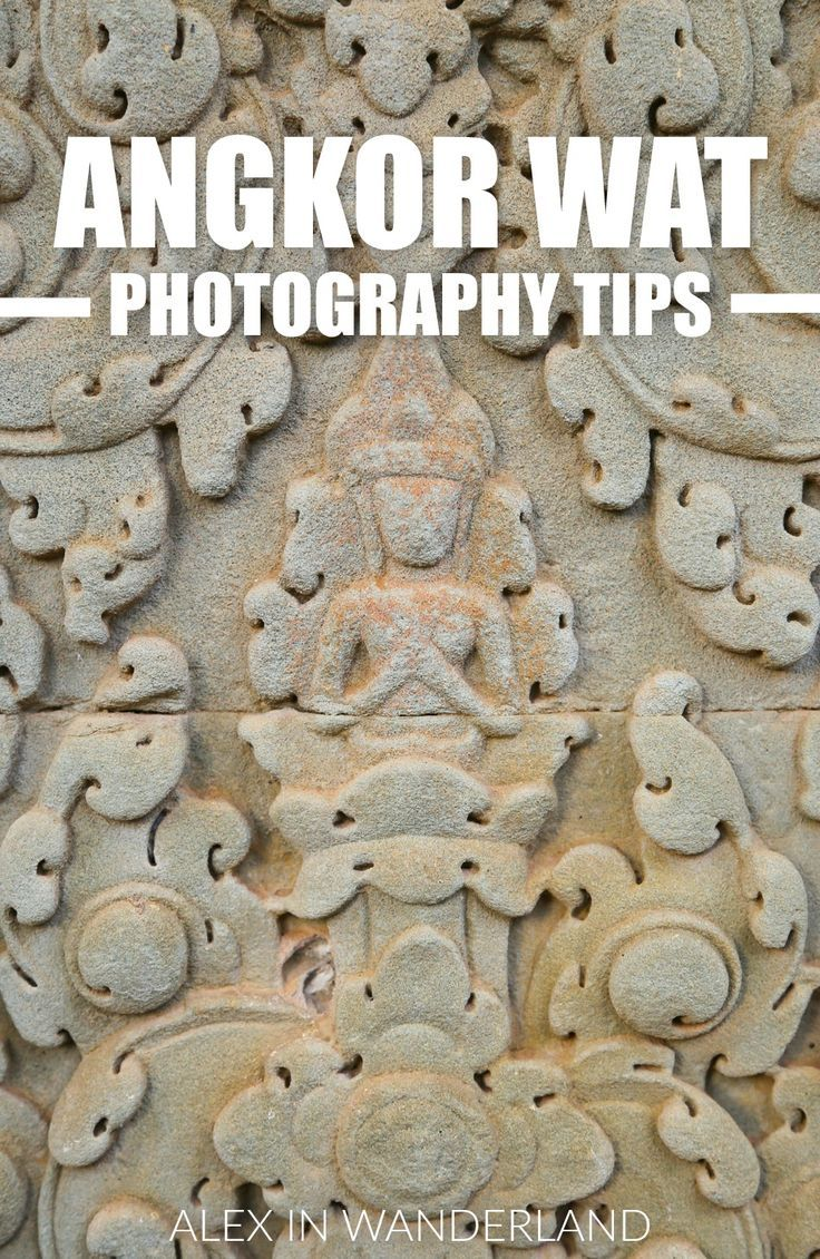 Angkor Wat in Cambodia is on many a traveler's bucket list. And whether those travelers are professional photographers, aspiring shutterbugs or just Instagram enthusiasts with smartphones, chances are they want to take home beautiful photos that will help them remember and reminisce about their trip for a lifetime to come.