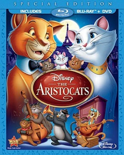 @Overstock - Everybody wants to be a cat! Disney's unforgettable classic THE ARISTOCATS swings like never before in high definition. Share all the heart, humor and irresistible music with your family in this jazzy...http://www.overstock.com/Books-Movies-Music-Games/The-Aristocats-Special-Edition-Blu-ray-DVD/6729609/product.html?CID=214117 $20.16