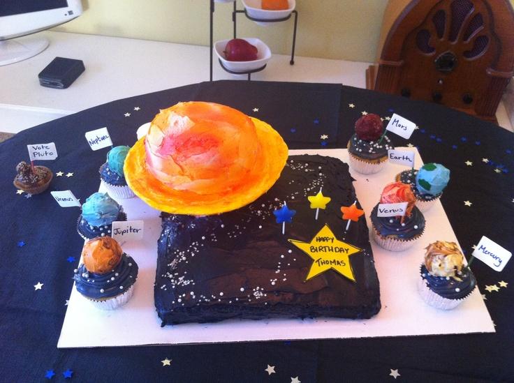 3d solar system birthday cake - photo #36