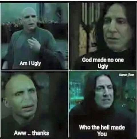 Horcruxes (sorry for the cuss)