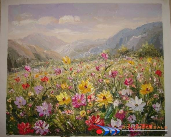 Flowers .... again: Flowers Oil, Fields Of Flowers, Landscapeoilpaintingjpg 591472, Flowers Colors, Landscape Paintings, Wedding Flowers, Beautiful Flowers, Oil Paintings Landscape, Landscape Oil Paintings