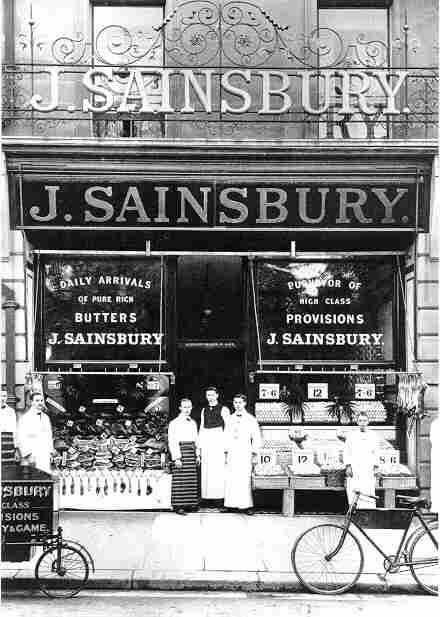 Sainsbury's back in the day.