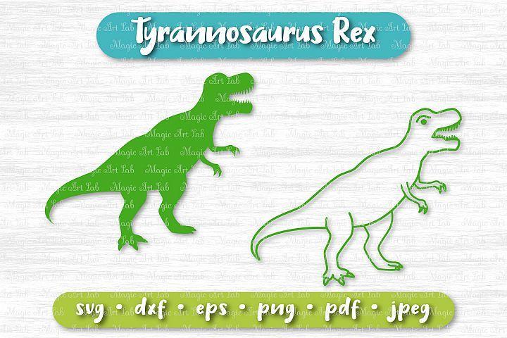 Dinosaur Svg T Rex Svg Tyrannosaurus Rex Svg Silhouette Tyrannosaurus Rex Tyrannosaurus Graphic