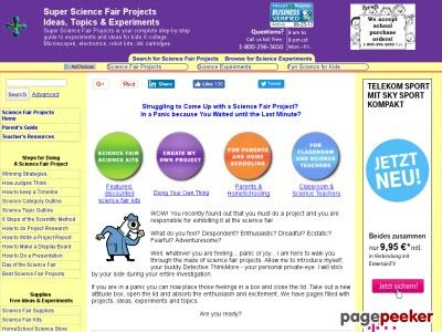 science fair projects step by step instructions