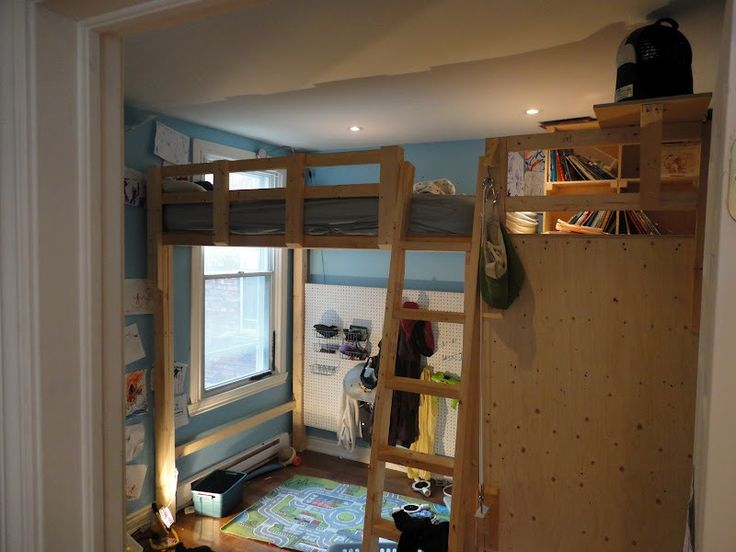 Build Cabin Plans With Loft Diy Pdf Wood Podium Plans Do: 17 Best Images About How To Build A Loft Bed On Pinterest
