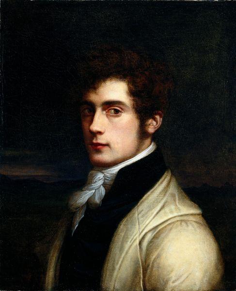Karl Joseph BEGAS. Self-portrait, 1819.: