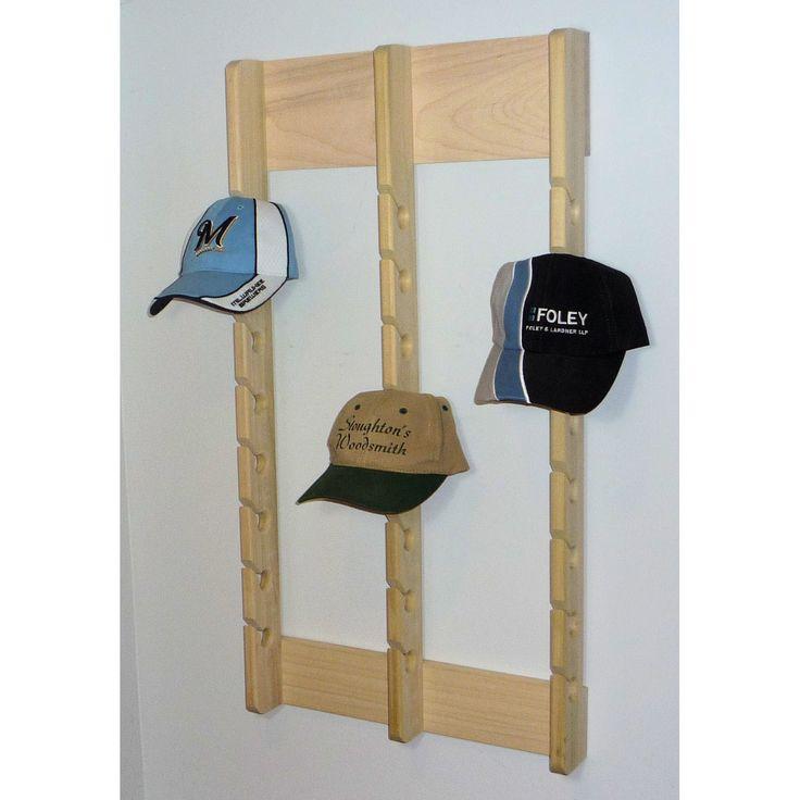 wooden hat racks for baseball caps cap rack hats