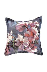 PRINTED BLOSSOMS 55X55CM SCATTER CUSHION