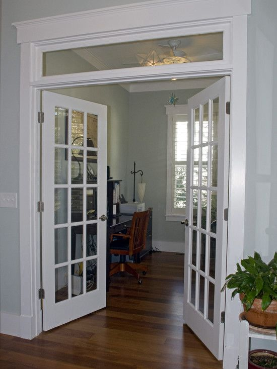 woodwork with transom (needs grills)