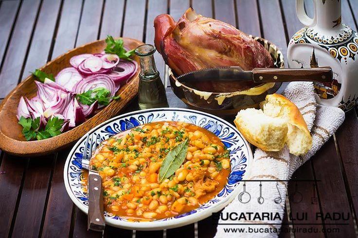 Iahnie de fasole cu ciolan afumat. Traditional. #bucatarialuiradu