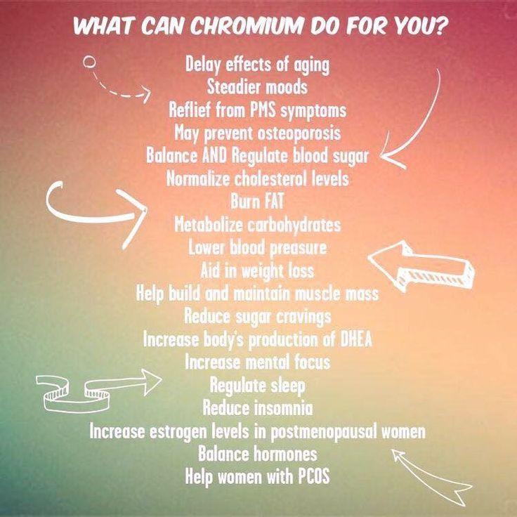 Chromium has oodles of benefits!  www.shopmyplexus.com/elisaaili