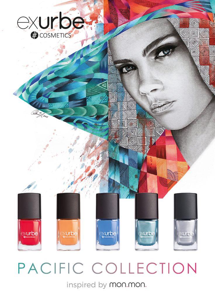 Pacific Collection – 5 Nagellacke inspiriert von mon.mon. | exurbe cosmetics