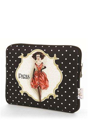 Retro iPad bag at #Stilago #Apolena #Paris