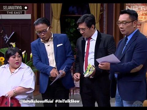 Saat Ridwan Kamil ketemu Cinta AADC di iniTalkShow