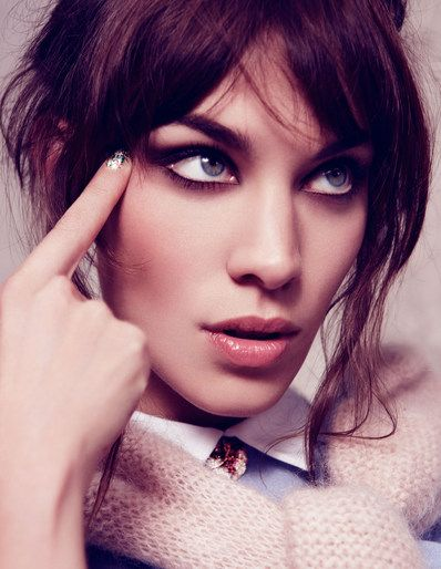 Alexa Chung by Dusan Reljin for Elle France August 2012.