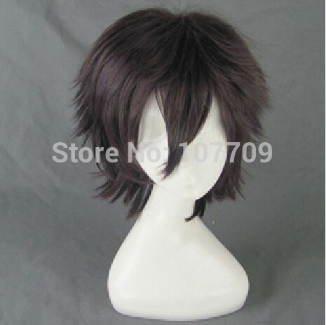 Аниме потому K мисаки ята / Munakata Reisi потому короткие темные волосы аниме косплей ну вечеринку парики мода + бесплатная парик кепка