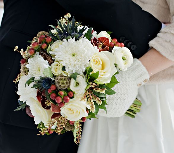 Wedding Bouquet Ideas For Winter : Best ideas about winter bridal bouquets on