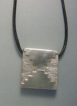 talismanes amuletos y símbolos | colgante kin maya sello espejo Etznab