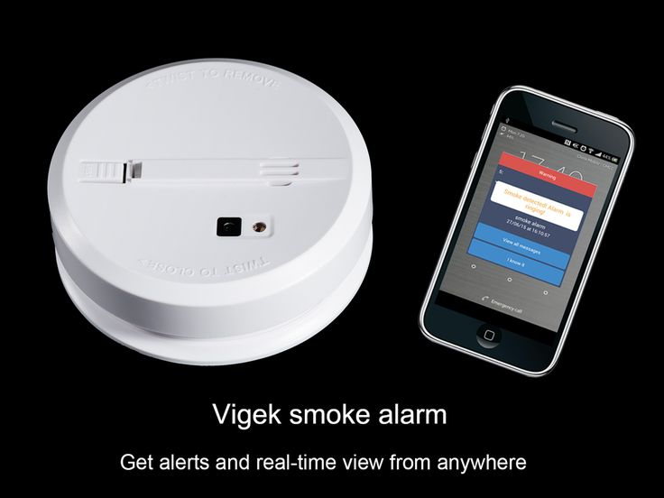 Vigek Smoke Alarm:Get Alerts & RealTime View From Anywhere project video thumbnail