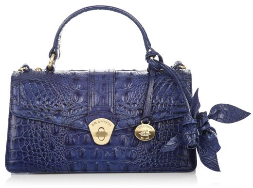 Brahmin Handbag Genie Rose Satchel