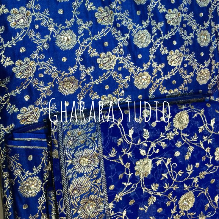 Royal Blue Gharara with zari jaaldaar dupatta and kundan work all over. Deliver complete stitched ready-to-wear Gharara Deliver Worldwide Message, call or whatsapp for enquiry. #gharara #ghararastudio #bridal #wedding #ghararastudiobyshazia #royalblue #kamkhawab #zari #zardozi #kundan #embroidery #readytowear #stitched #orderonline #partygharara #bridalgharara #bridalwear #ghararagirl #fashion #fashionable #fashionblog #fashiongram #deliverworldwide #celebrityfashion #fashionista #indianwear…