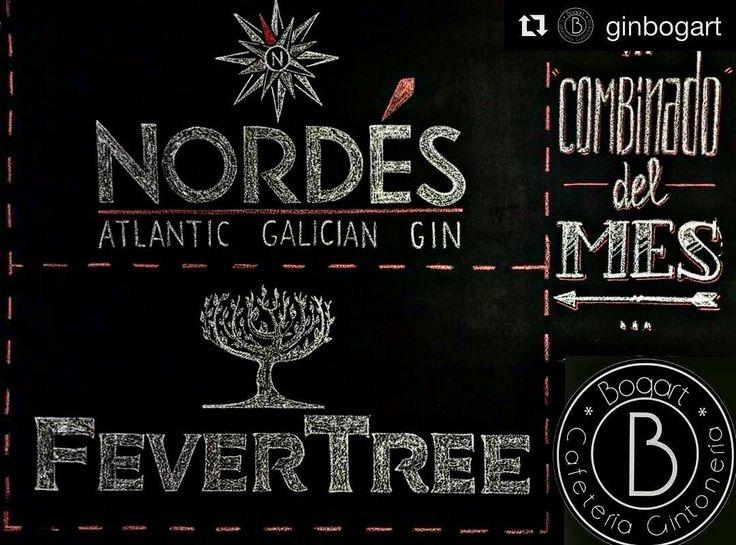 #Repost @ginbogart (@get_repost)  Llega la semana más #gallega a @ginbogart. El sabor de una gran #ginebra como es @nordesgin combinado con @fevertree_esp. #gintonic y #musica en directo para el mejor tardeo de este #sabado. Nos vemos en #Mula #amigos