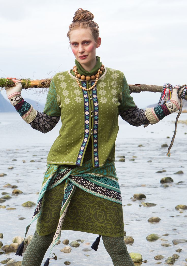 """""""Luse"""" cardigan in eco-cotton – Sweaters & cardigans – GUDRUN SJÖDÉN – Webshop, mail order and boutiques 