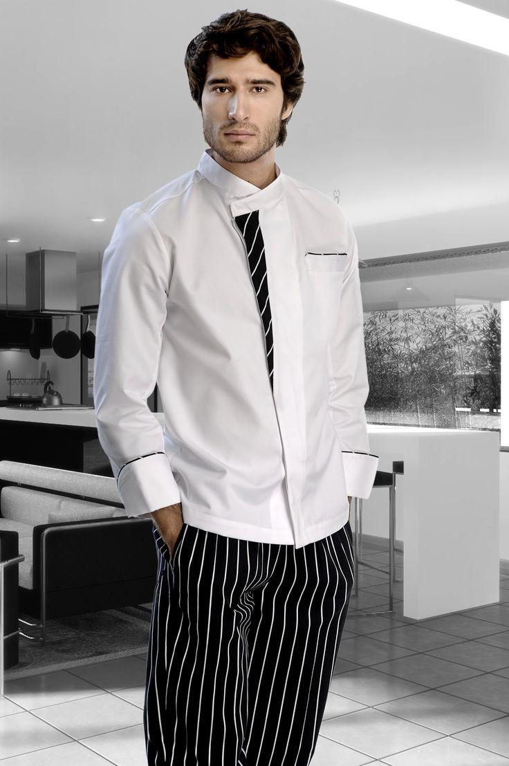 camisas de chef modelos - Buscar con Google