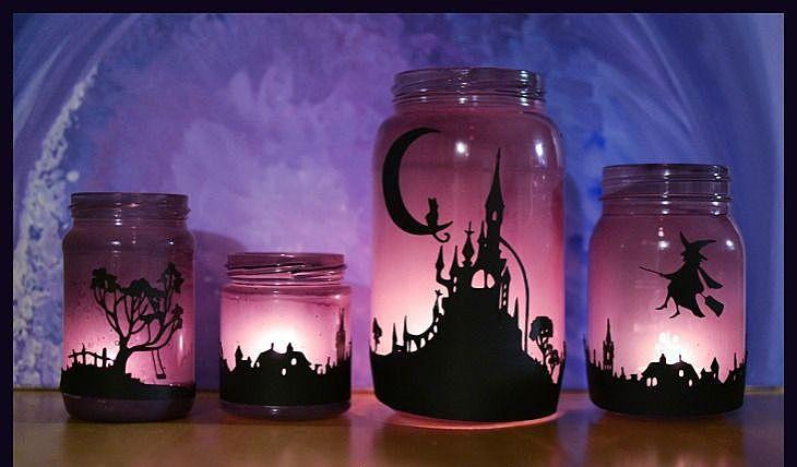 Еще одним дополнением к общему декору на жуткий праздник будут подсвечники для Хэллоуина. Ведь именно свечи способны подарить ту саму атмосферу праздника...