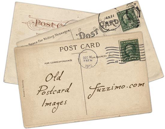 free vintage postcards- can't wait to print on cardstock and use as actual postcards!
