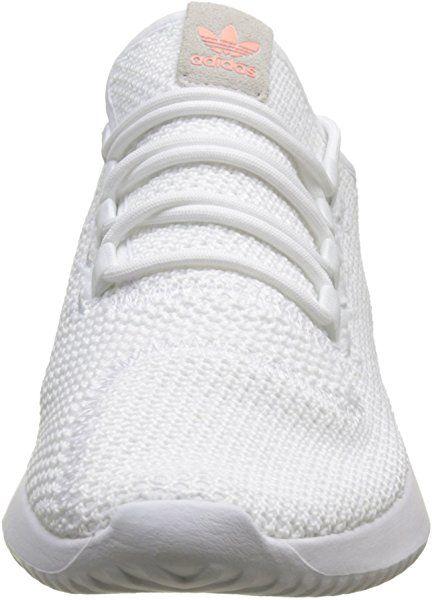 sports shoes b5c02 e8310 adidas Damen Tubular Shadow Fitnessschuhe, Weiß (FtwblaFtwblaNegbás 000),